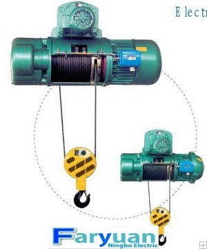 CD1, MD1 wire rope Electric Hoist