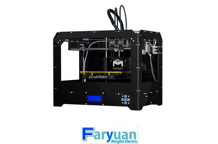 FY3D-2N cheapest dual nozzles 3d printer ,cheapest acrylic 3d pr - Click Image to Close