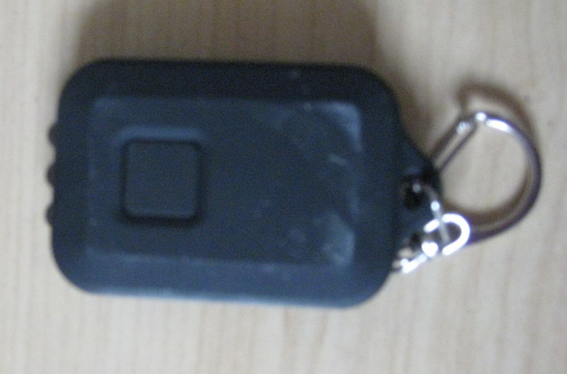 solar LED key ring
