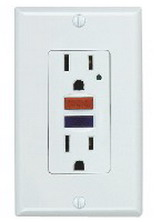 15A GFCI receptacle outlet