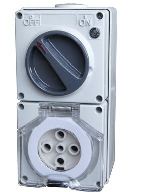 56CV532 switched outlet