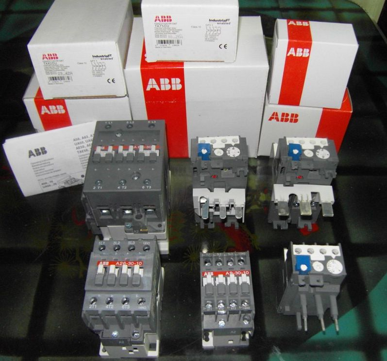 ABB contactor - Click Image to Close
