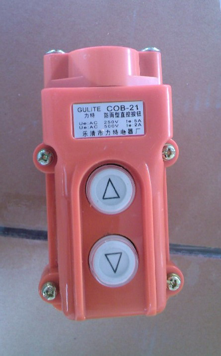 COB 21 hoist pushbutton