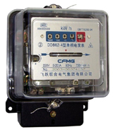 DD862 single phase electric mechanical meter