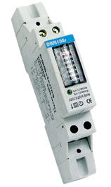 DEM015 single phase DIN-rail watt-hour meter