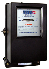 DT86 series three phase mechanical electricity meter