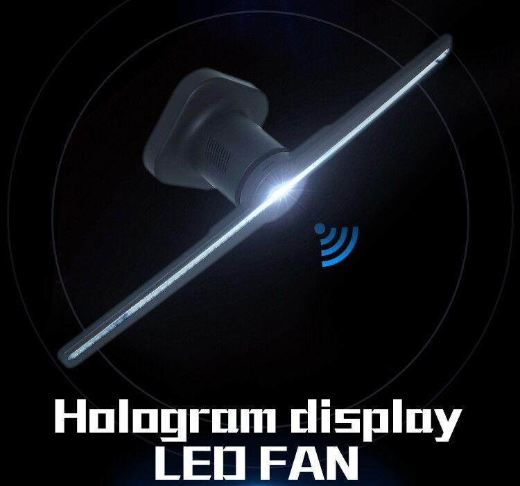 FY3D-Z2: Hypervsn, hologram LED fan, like Kino-mo floating holo