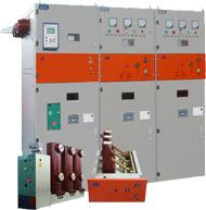 Combined Fixed AC Metal Clad RMU Switchgear HXGT8-12