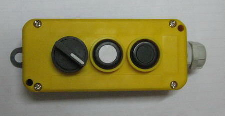 LAY5 mafelec control box with emergency stop button