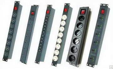 PDU cabinet outlet