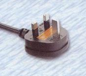 UK Power Supply Cords with BSI approval