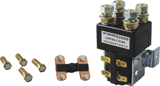 ZJW100A-2 DC contactor for pump motor