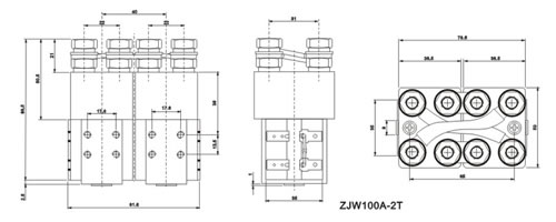ZJW100A-2T DC contactor