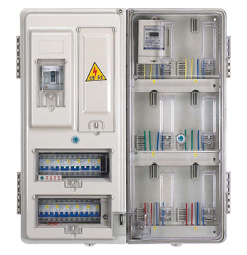 DX-201A-Single Phase two household electric meter box