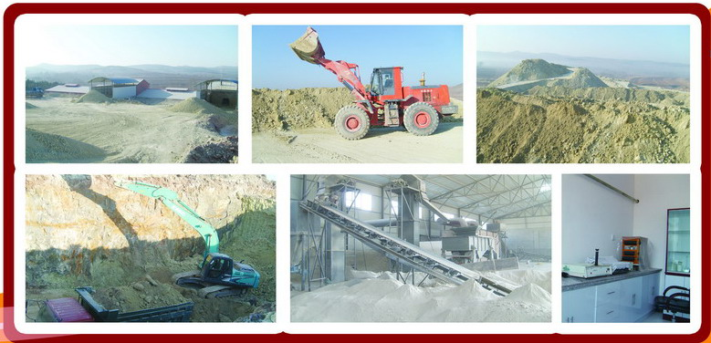 bentonite clay factory
